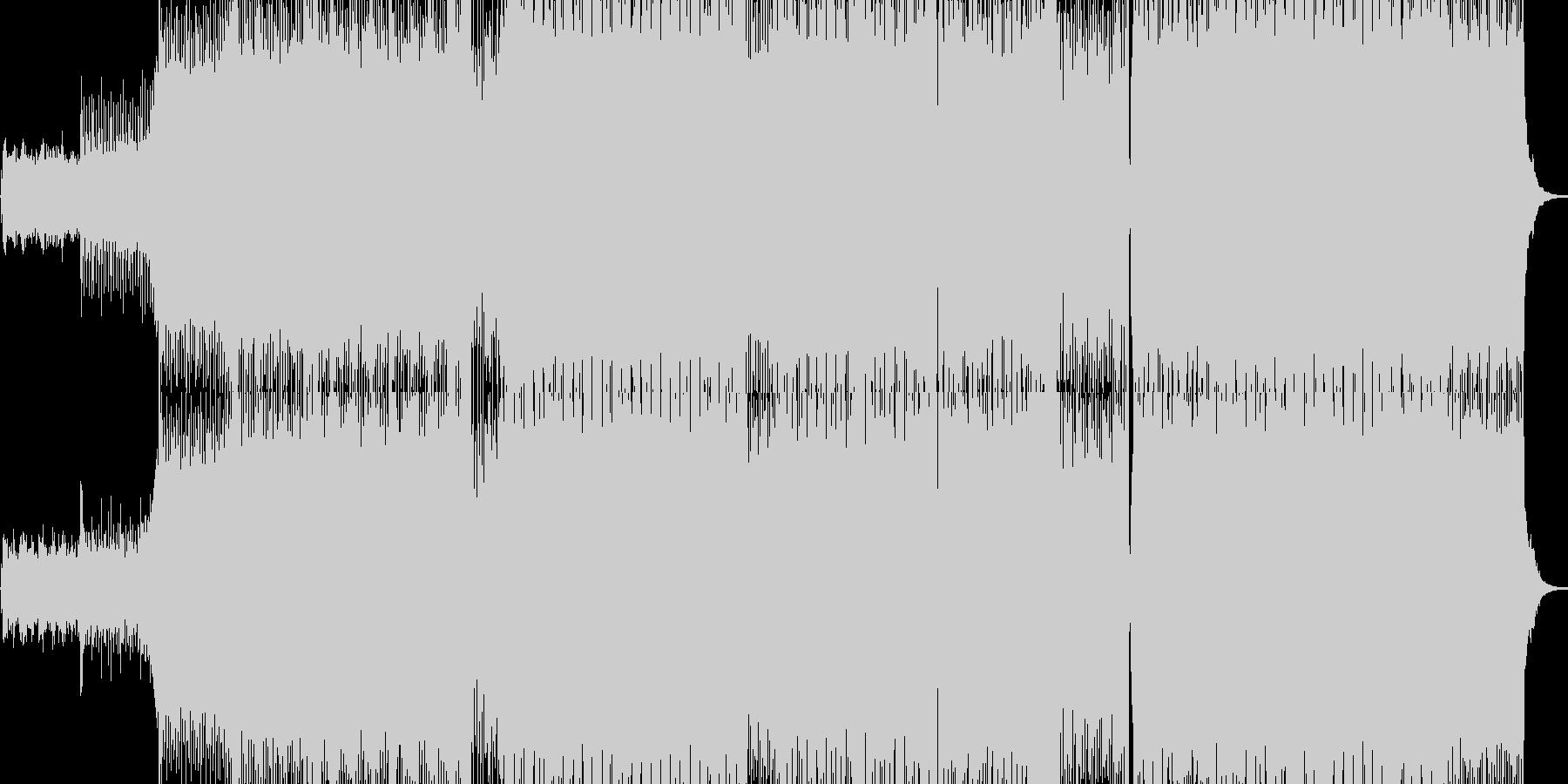 テクノ・トランスのダンス系の未再生の波形