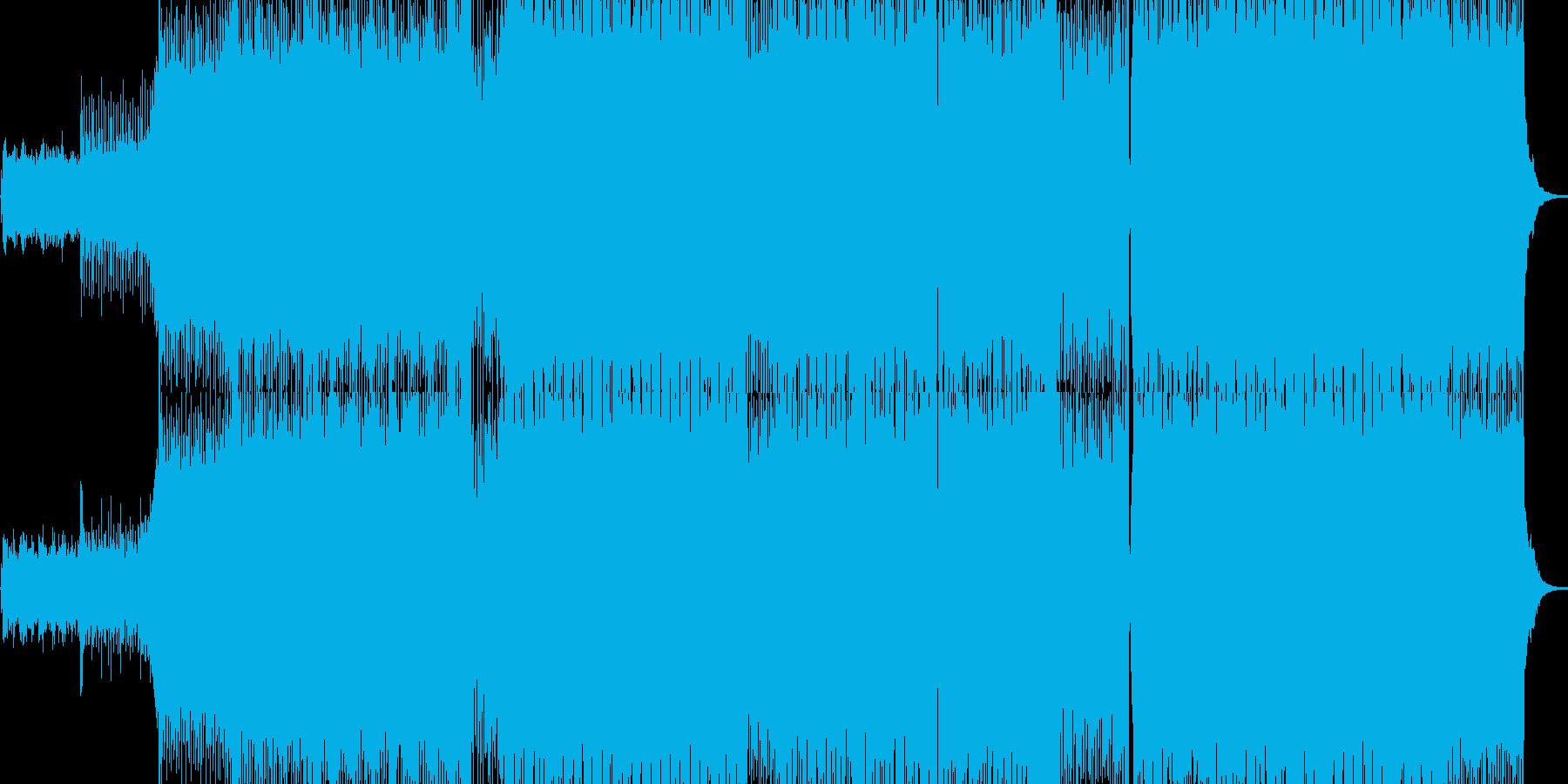 テクノ・トランスのダンス系の再生済みの波形