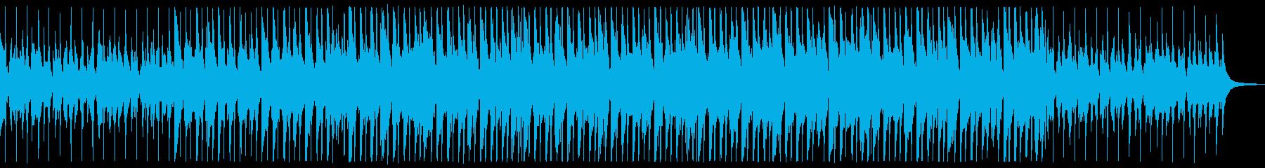 ハッピーなウクレレBGM2の再生済みの波形