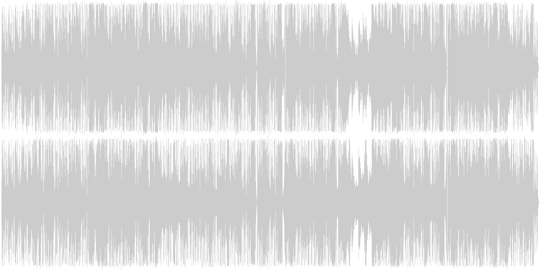 オカルト的EDMの未再生の波形
