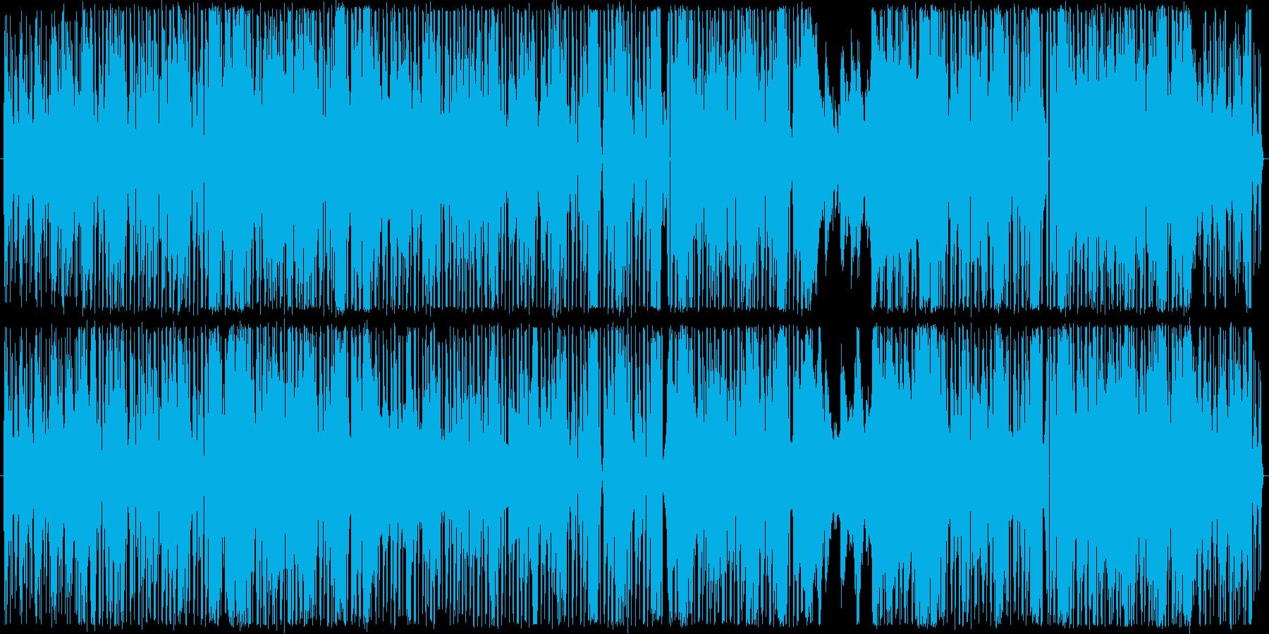 オカルト的EDMの再生済みの波形