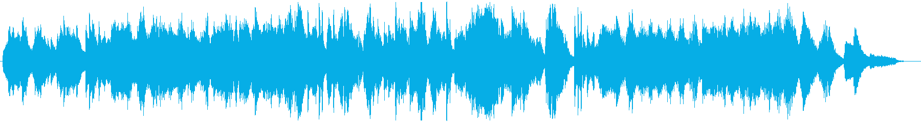 バンドネオンの悲しげなタンゴ風BGMの再生済みの波形