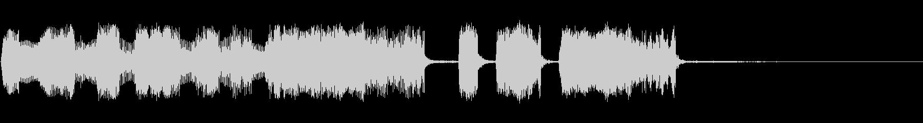 【パステルカラー3】の未再生の波形