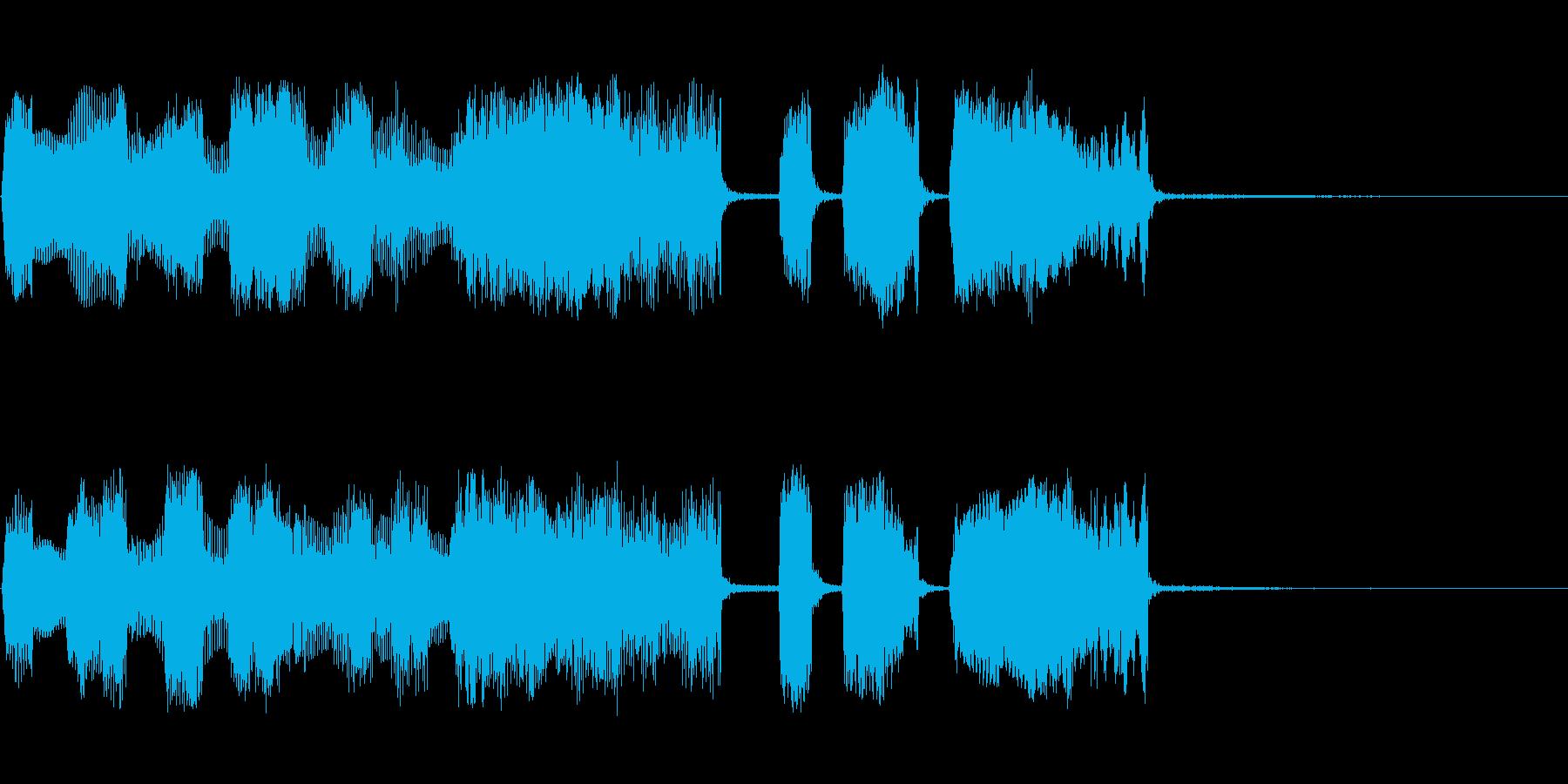 【パステルカラー3】の再生済みの波形