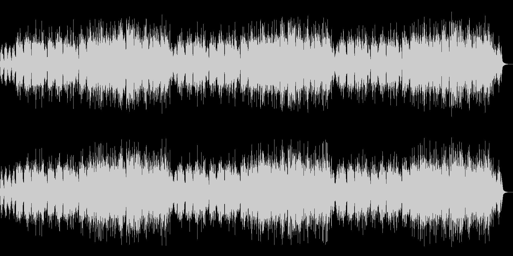 リコーダーとピアノによる温かいバラードの未再生の波形