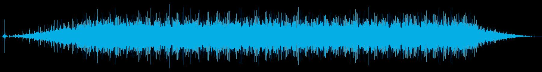 映写機01-1の再生済みの波形