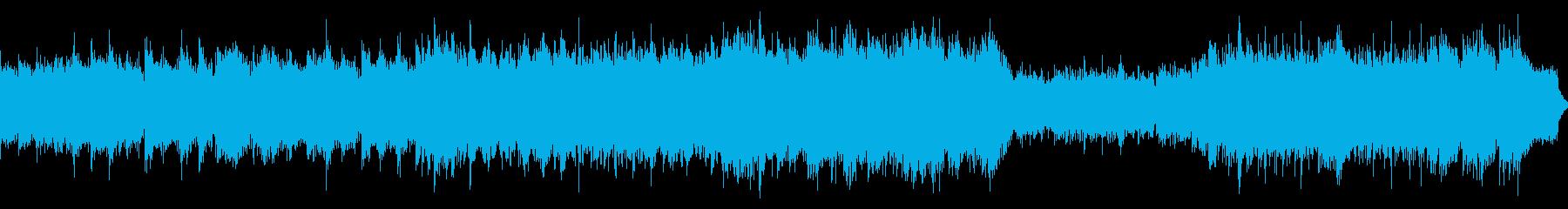 感動、壮大なケルト音楽のイメージlongの再生済みの波形