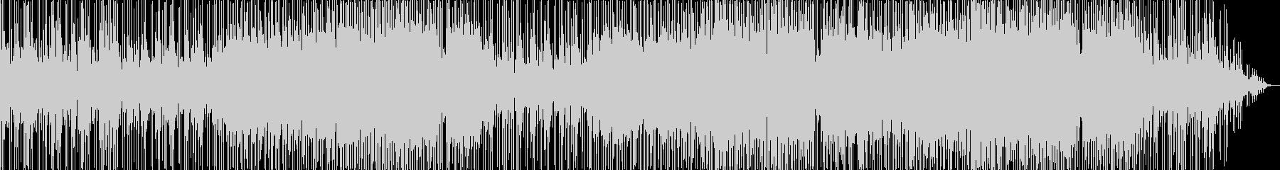 明るく軽快なシャッフルバラードの未再生の波形
