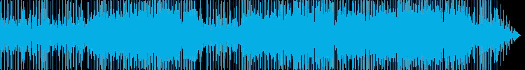 明るく軽快なシャッフルバラードの再生済みの波形