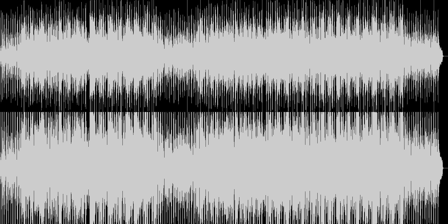 貴族の館をイメージしたBGMの未再生の波形