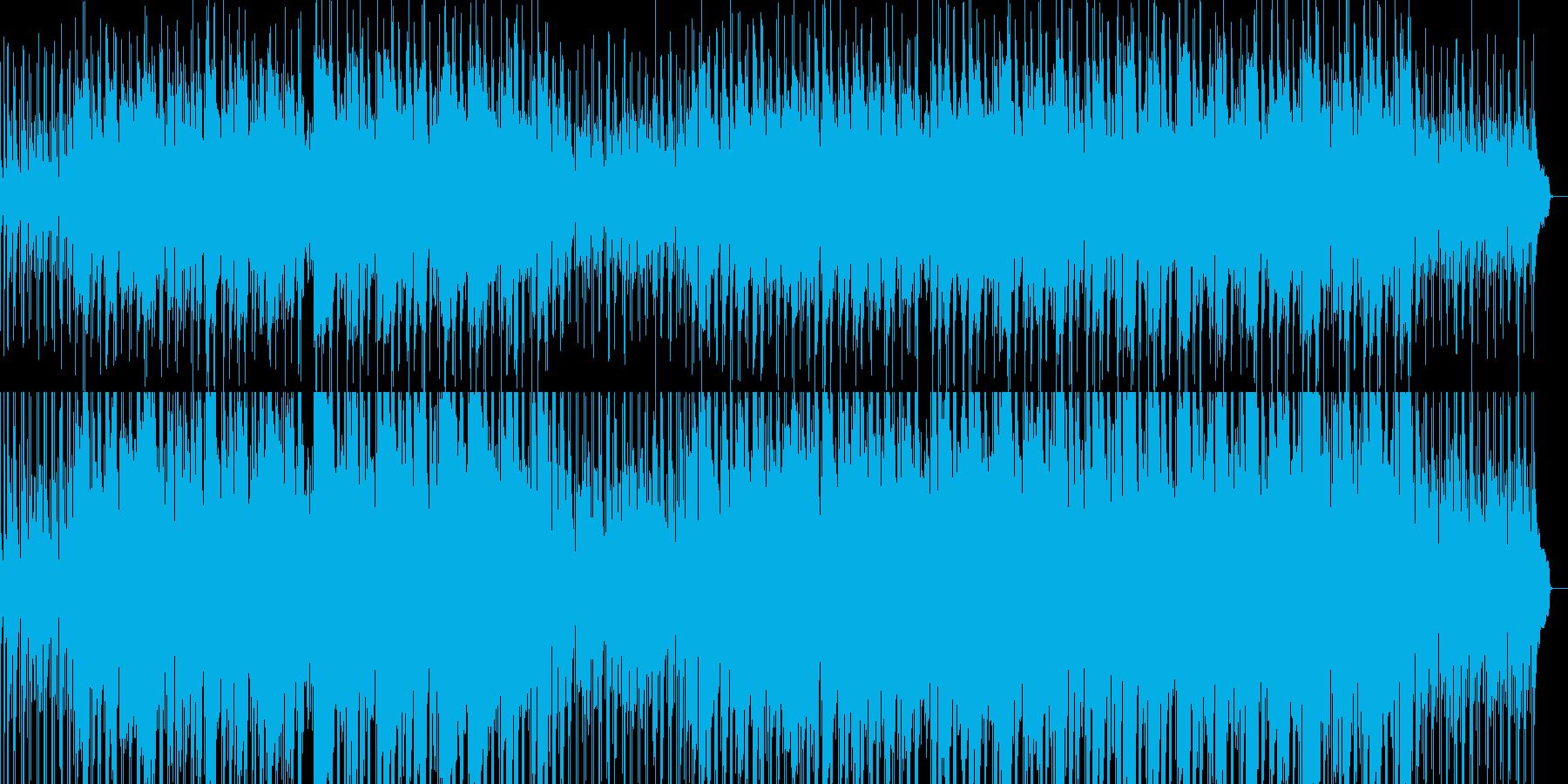 貴族の館をイメージしたBGMの再生済みの波形