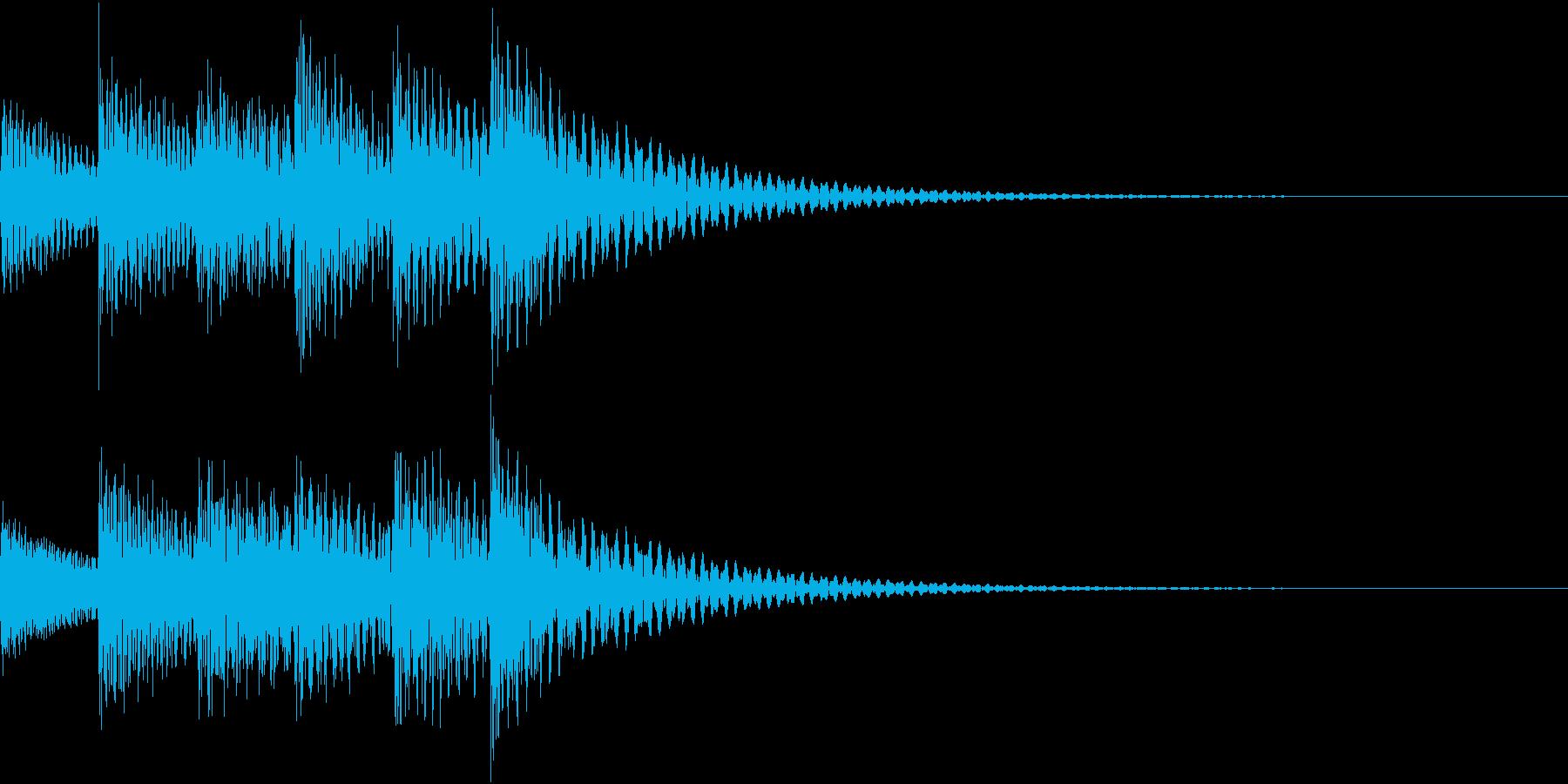 シンプルベル お知らせ ハテナ ? 17の再生済みの波形