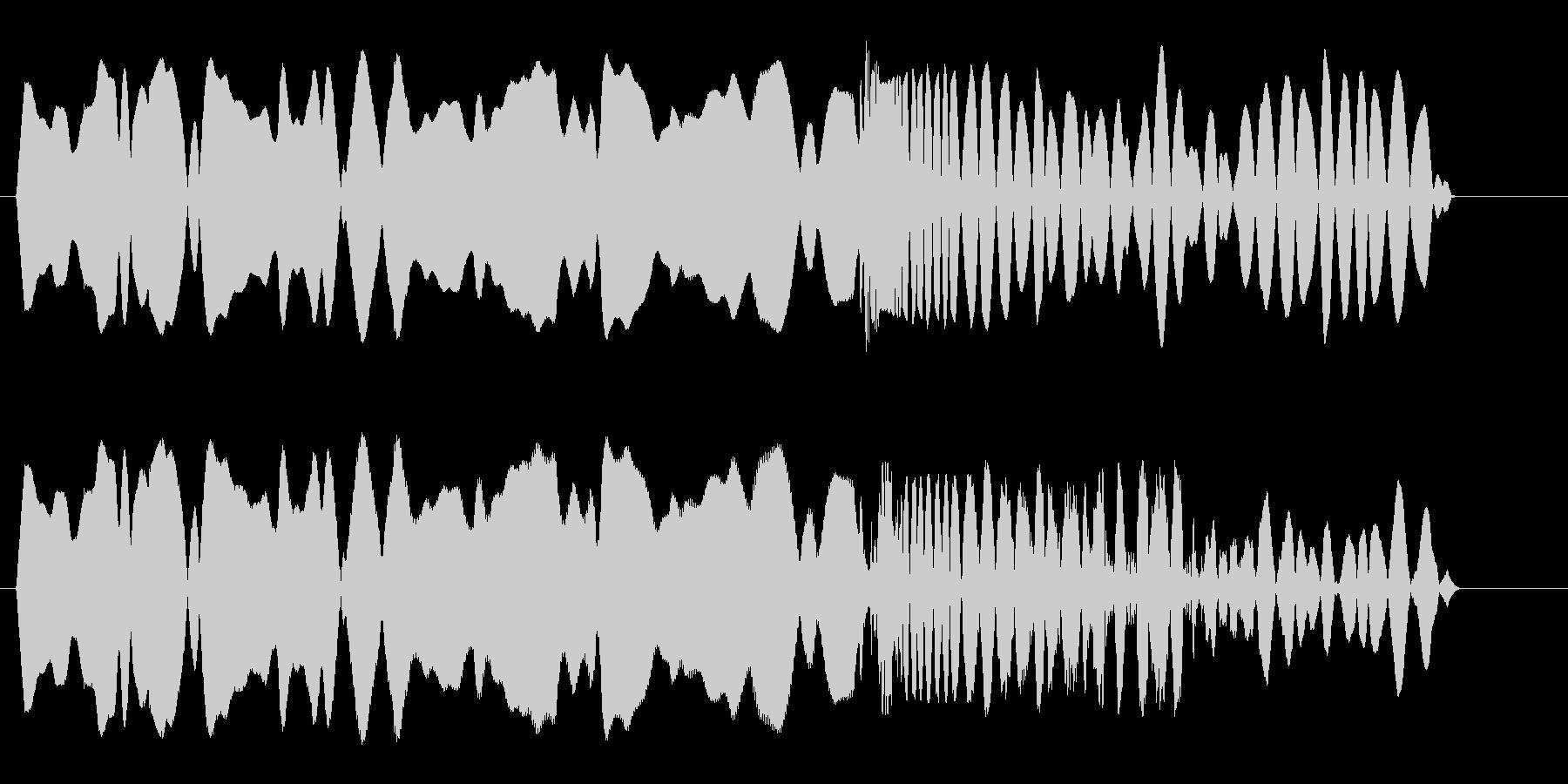ヒュルルバシューン(落下)の未再生の波形