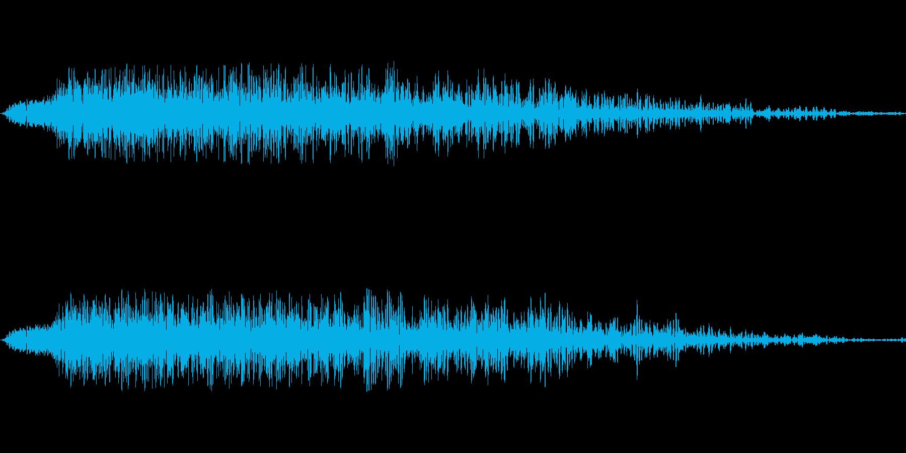 映画の効果音 その6の再生済みの波形