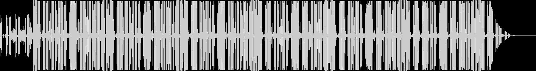 近代hiphopのサイファー用ビートの未再生の波形