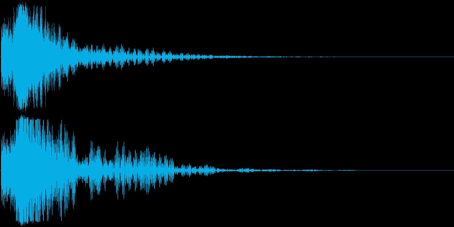 シャキーン(特大剣 ロゴ インパクト)3の再生済みの波形