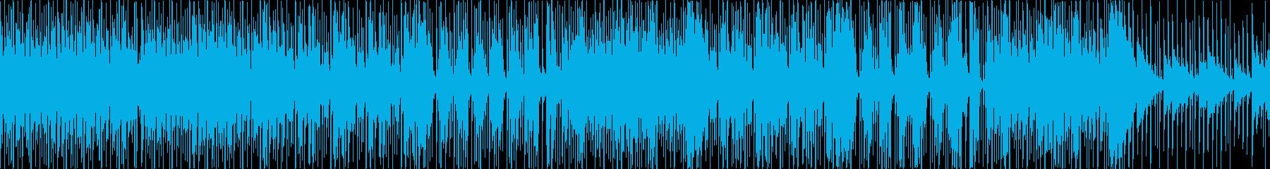 【ループ】ディスコでキラキラしたBGMの再生済みの波形