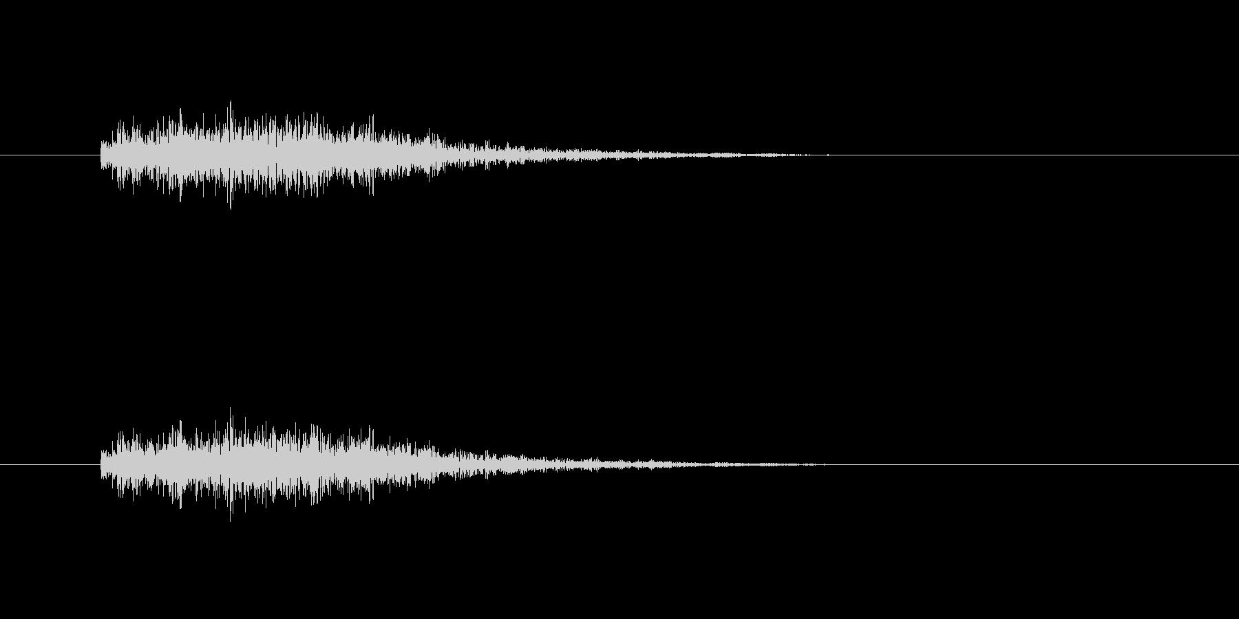 【モンスター01-2】の未再生の波形