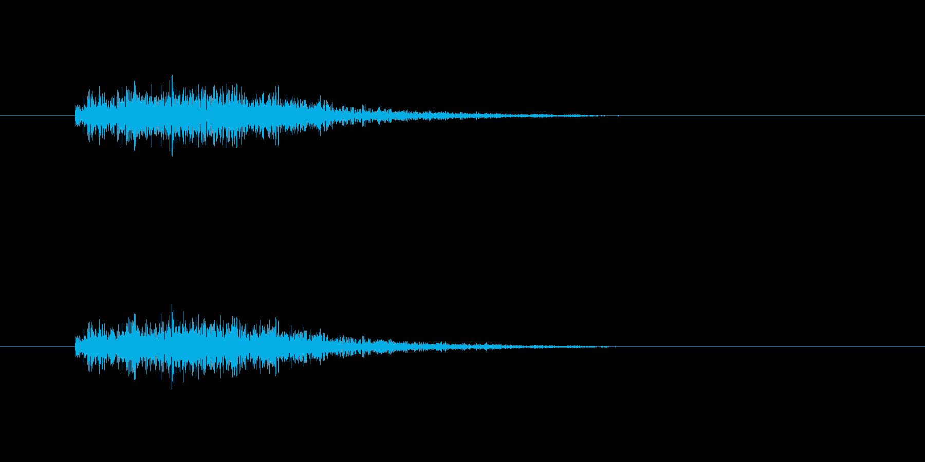 【モンスター01-2】の再生済みの波形
