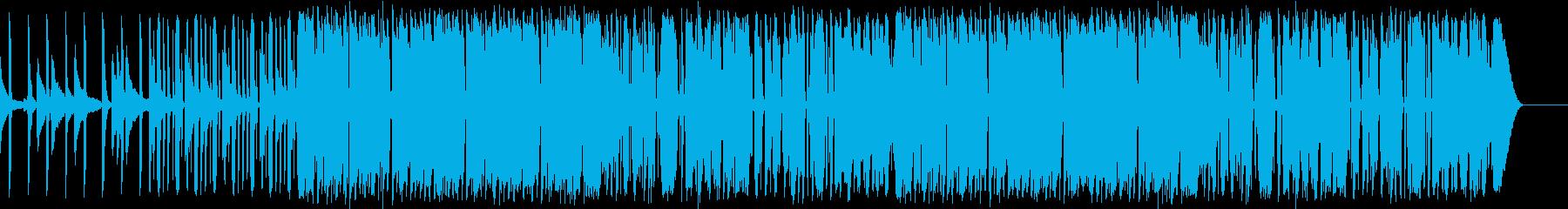 Jazz funk 01の再生済みの波形