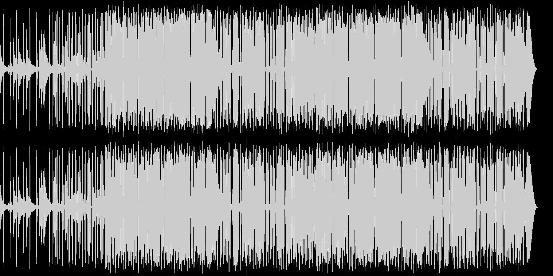 Jazz funk 01の未再生の波形