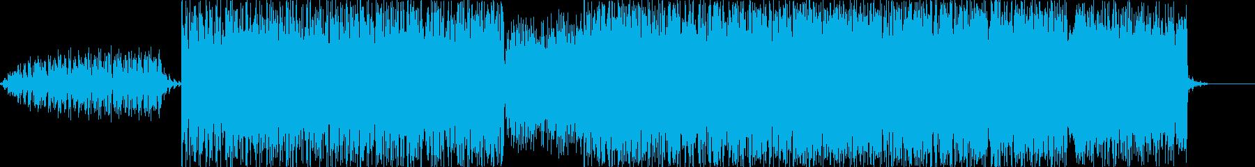 速く力強く混沌としていく感じになりまし…の再生済みの波形