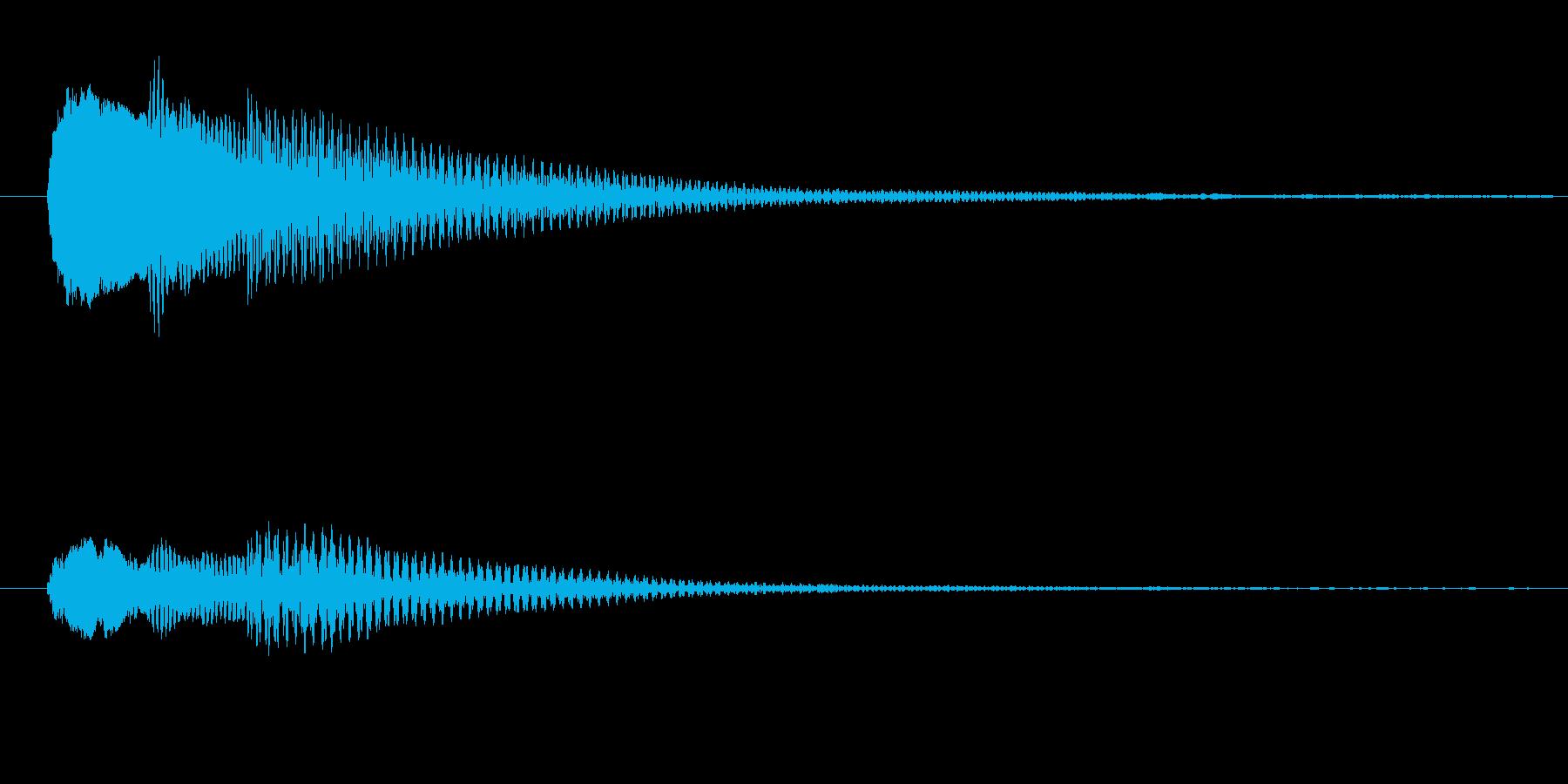 ハテナ?ドファソの再生済みの波形