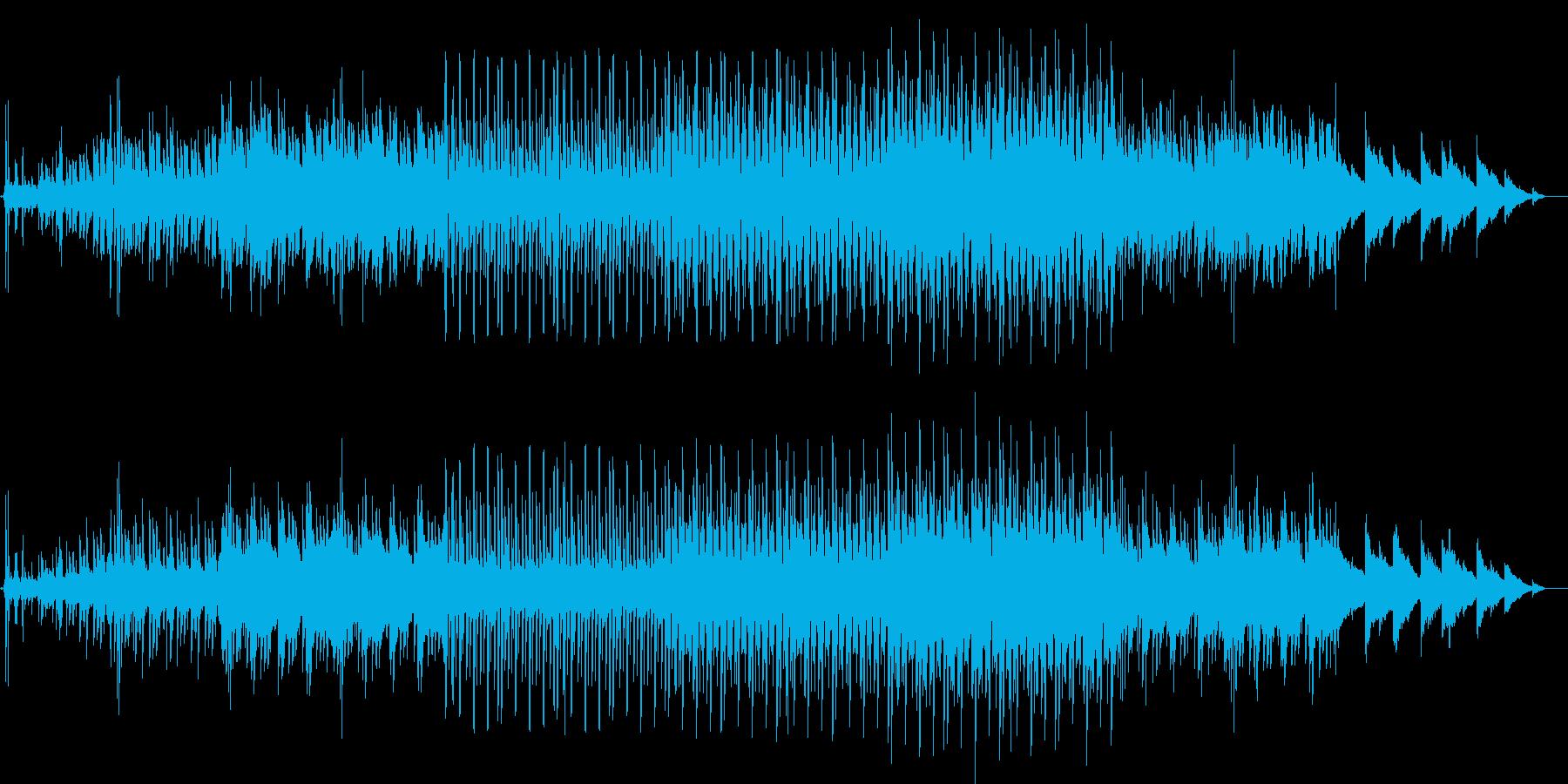 切なめのフューチャーテクノの再生済みの波形