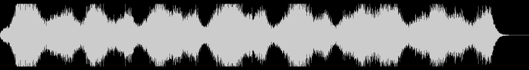 ミステリアス、幻想的なダークアンビエントの未再生の波形