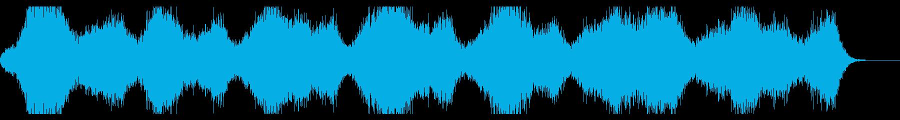 ミステリアス、幻想的なダークアンビエントの再生済みの波形