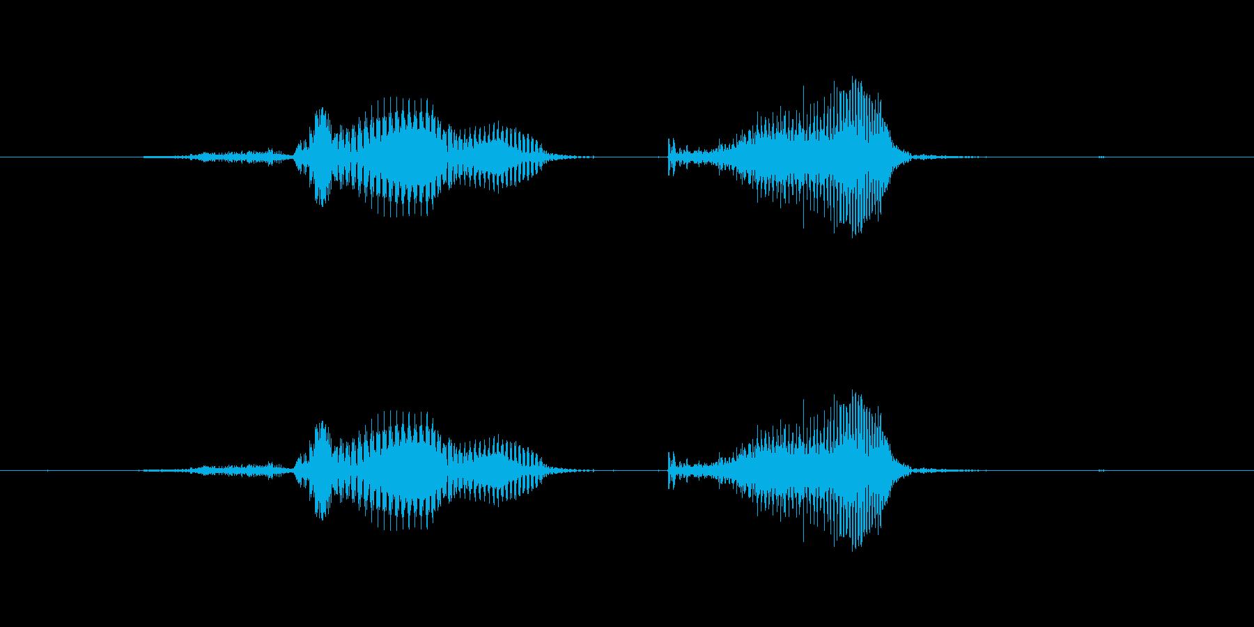 正解の再生済みの波形