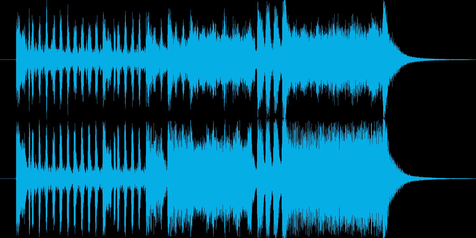 金管楽器ファンファーレC・賞発表・競馬風の再生済みの波形