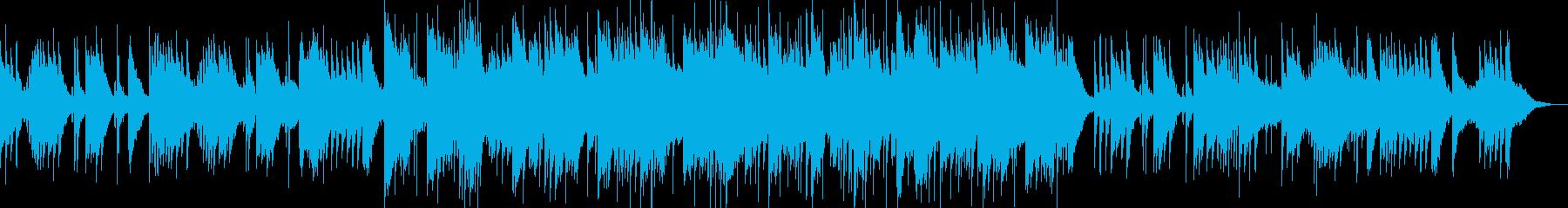 和楽器の音色を活かした和風スローグルーヴの再生済みの波形