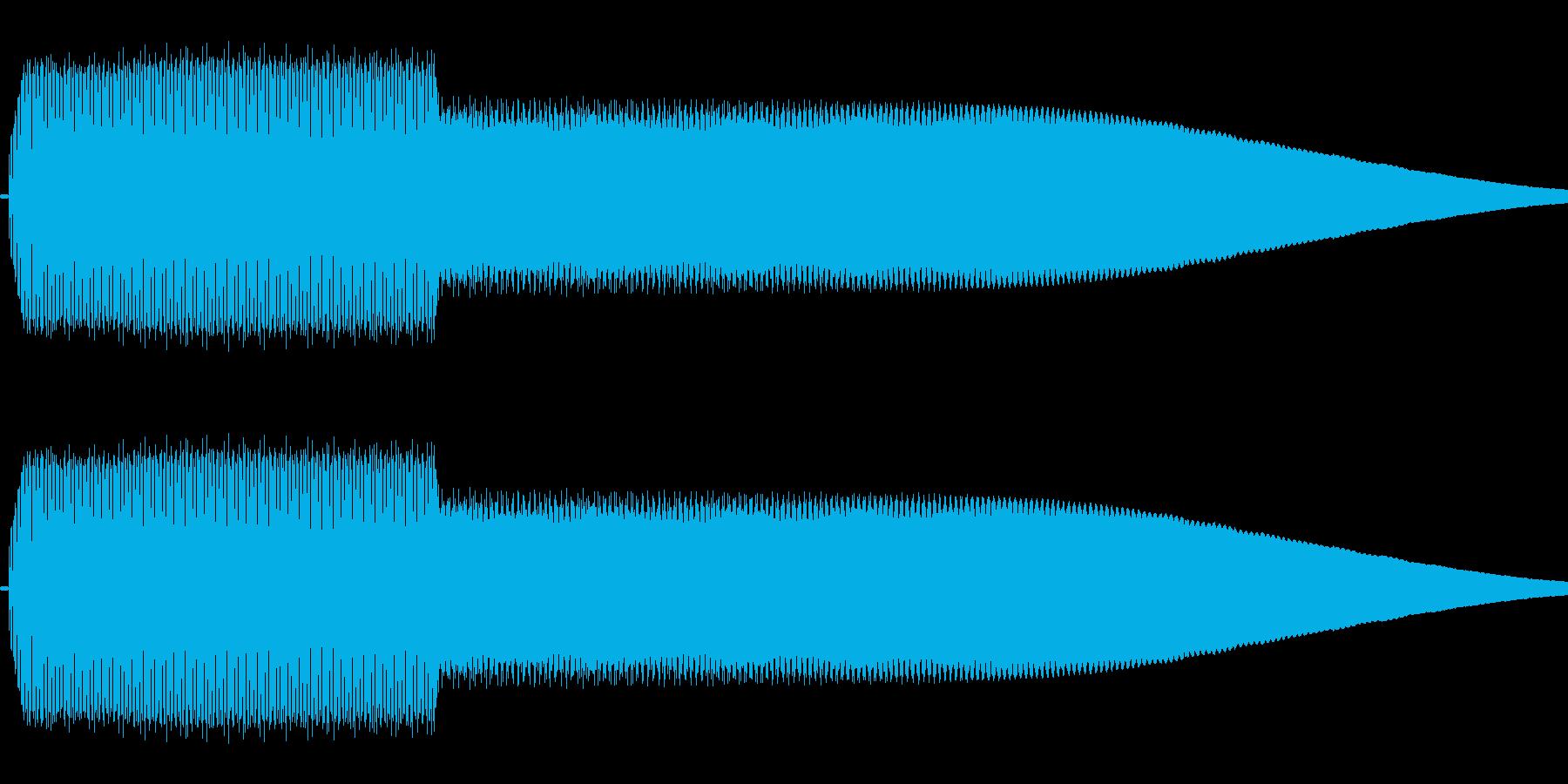 ピコッ(シンプル/決定音/単音)の再生済みの波形