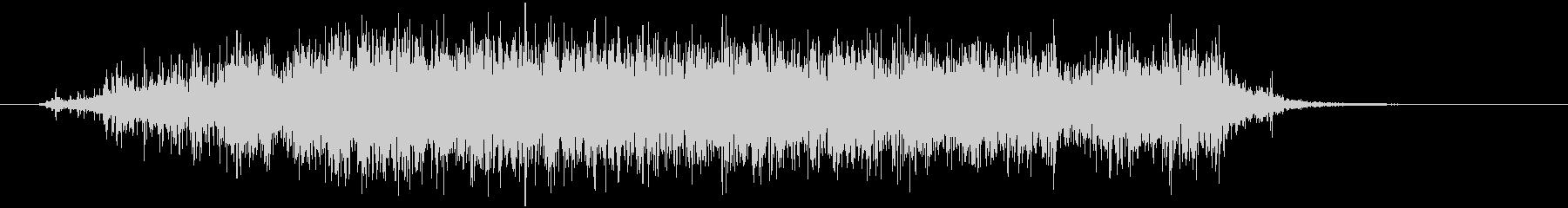 スプレー噴射 シューの未再生の波形