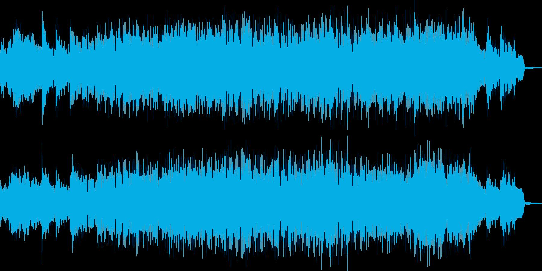 一気に引き込むファンタジック・メタルの再生済みの波形