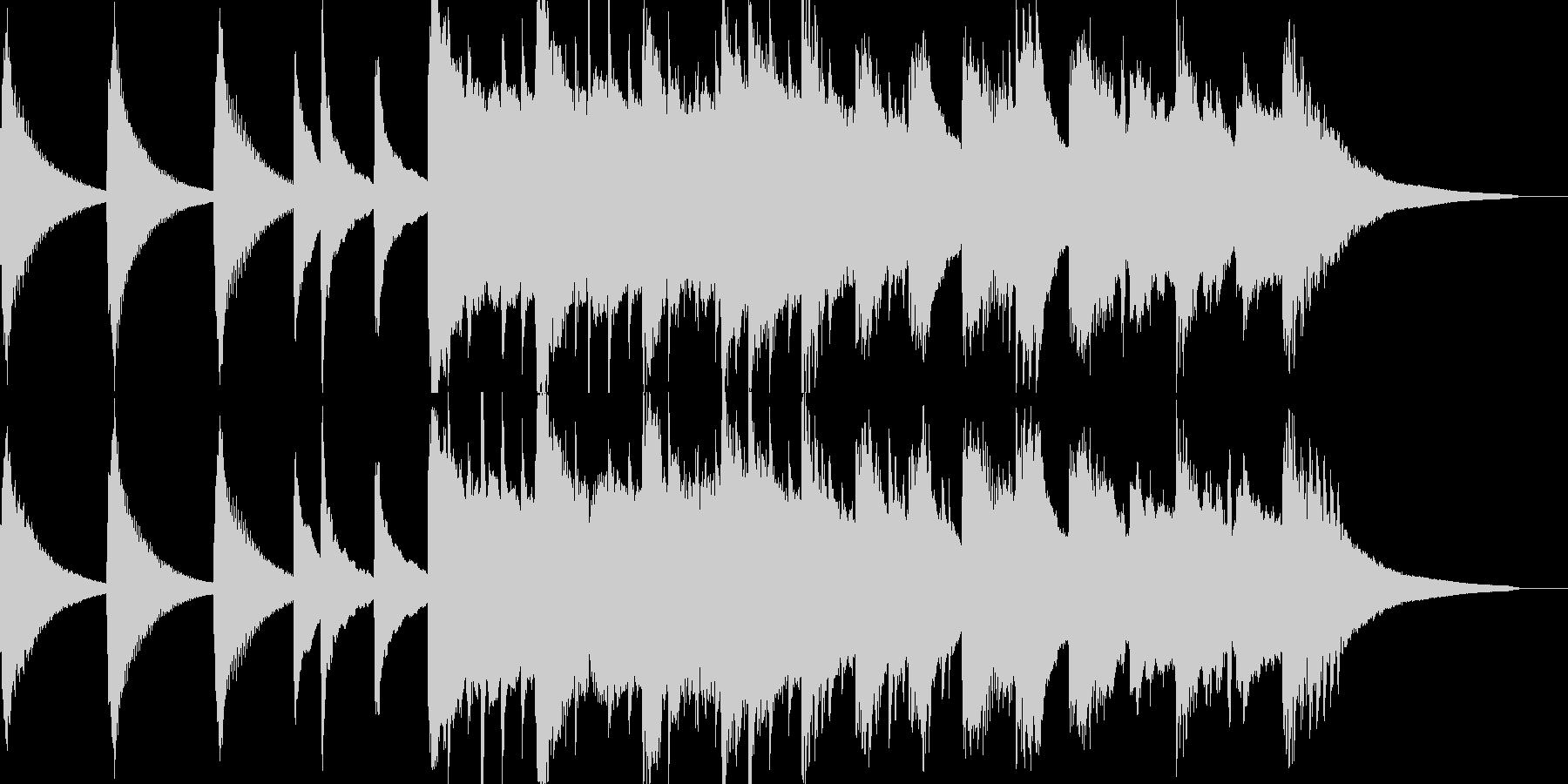大地が割れる時(ピアノのみバージョン)の未再生の波形