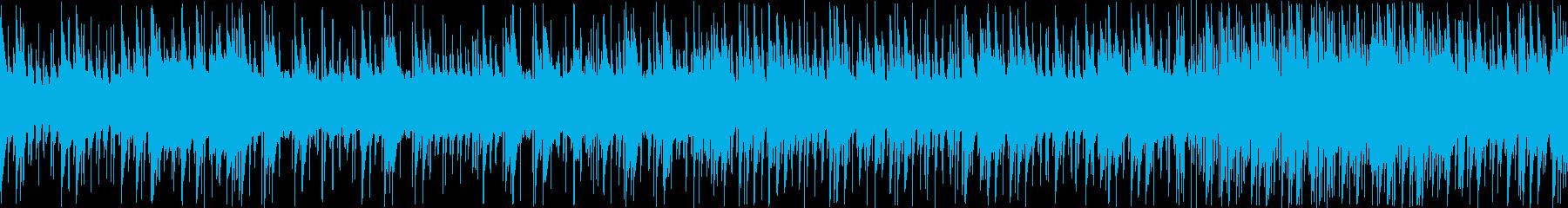8bit スペースチックBGM ループ版の再生済みの波形