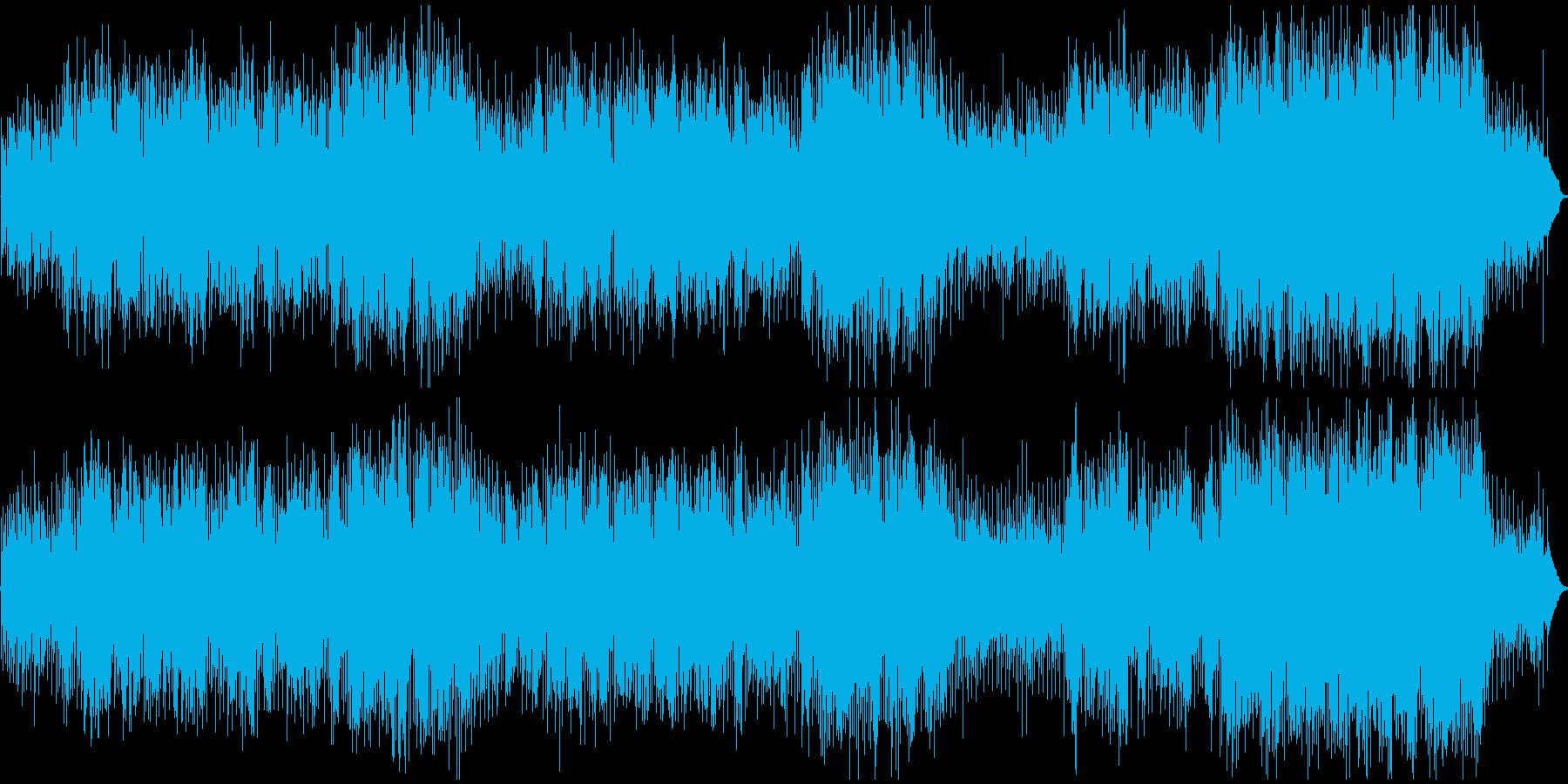 フルートが印象的で心癒され元気になれる歌の再生済みの波形