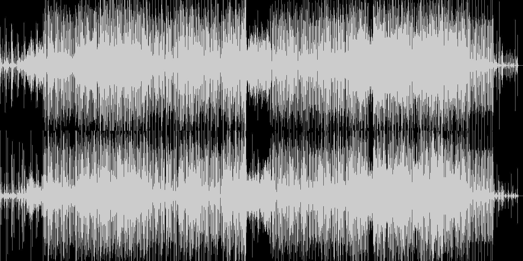面白い感じのbreakbeats の未再生の波形