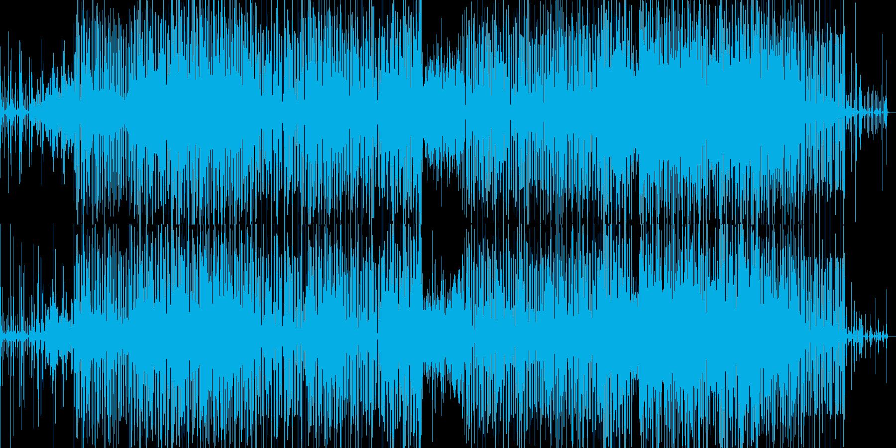 面白い感じのbreakbeats の再生済みの波形