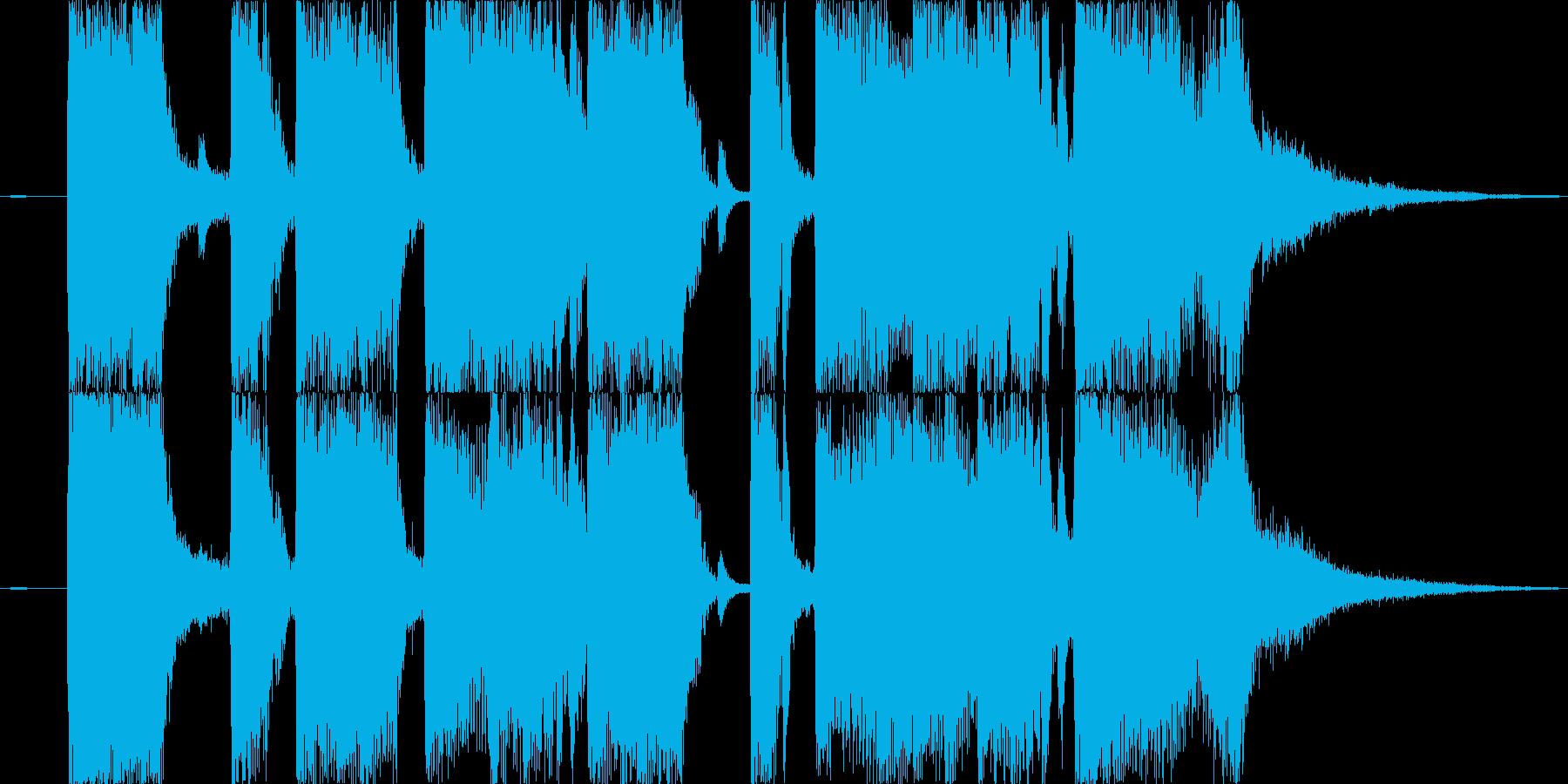 【ショート】お笑いライブの出ばやしなど…の再生済みの波形