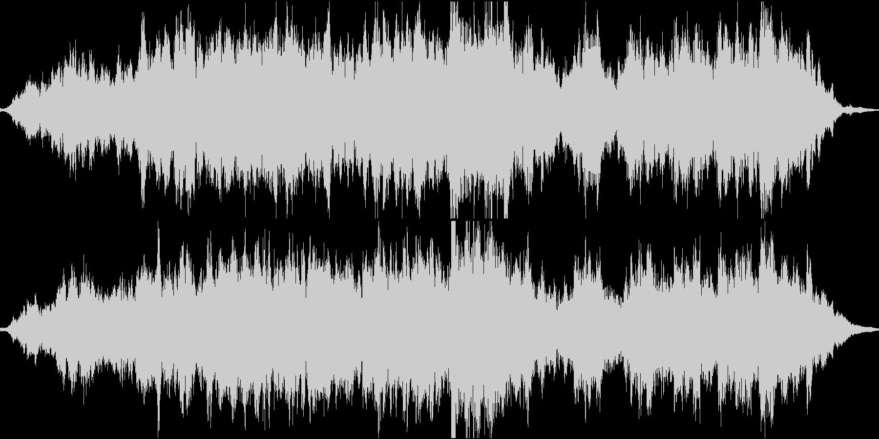 切ない雰囲気のインスト曲の未再生の波形