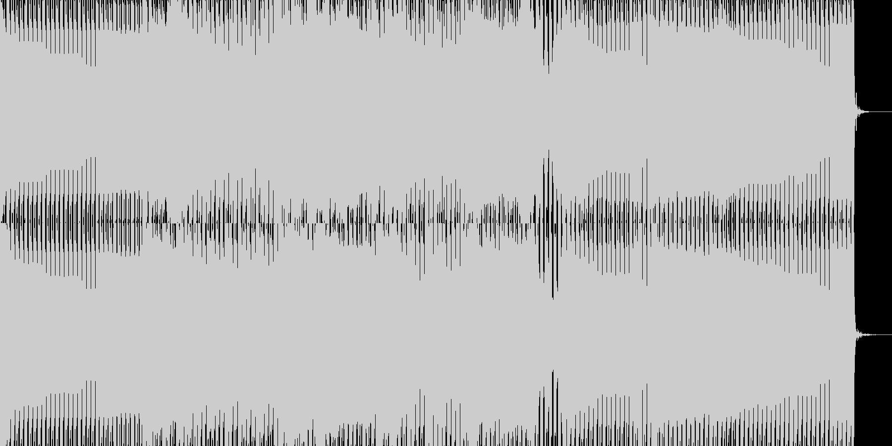 始まり・クール・爽やかの未再生の波形