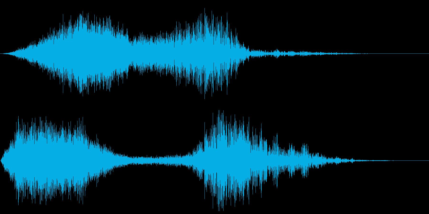 ぶわぁピュゥゥ(パイプオルガンと風)の再生済みの波形
