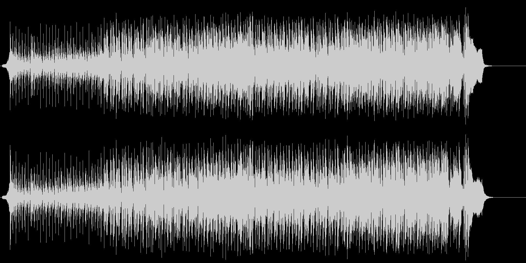 夜のクラブ系マイナー・ハウス/テクノの未再生の波形