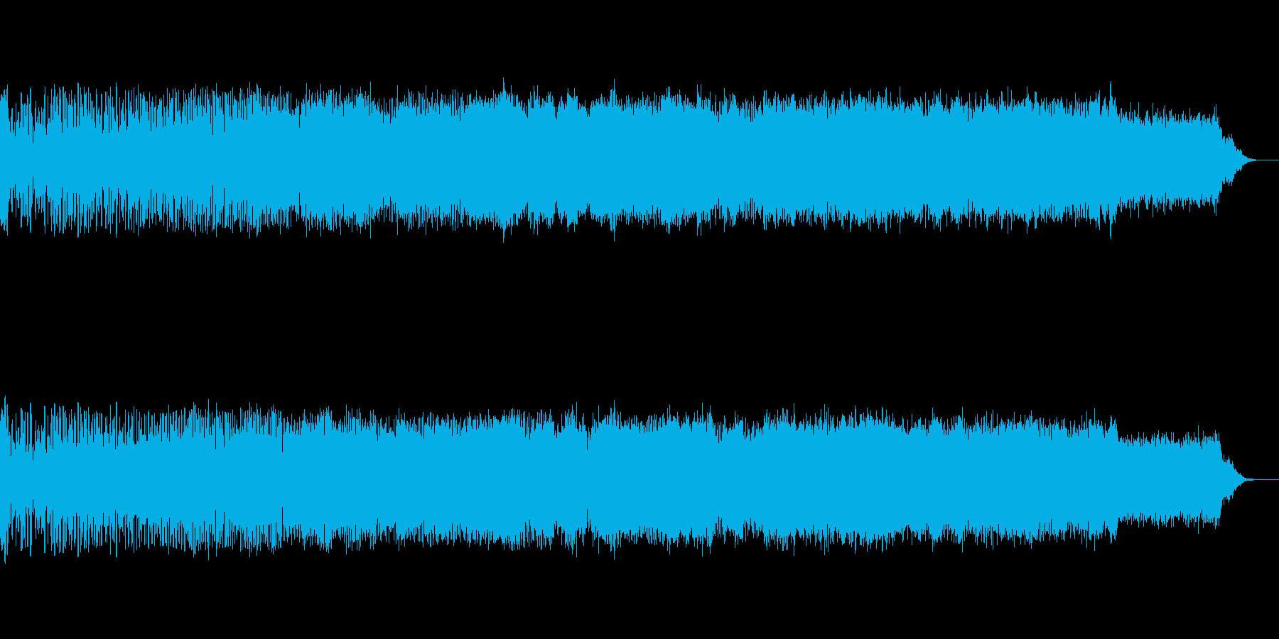 キュイーン(エネルギー充電)の再生済みの波形