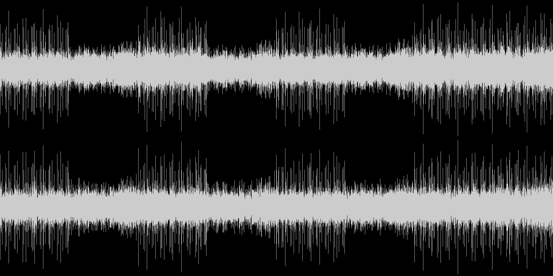 108bpm、Bb-Maj、アルペジオの未再生の波形