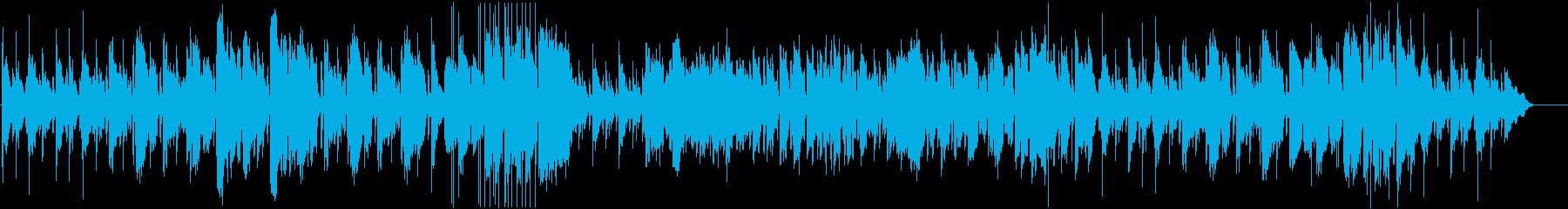 優しいソプラノサックスのバラードの再生済みの波形