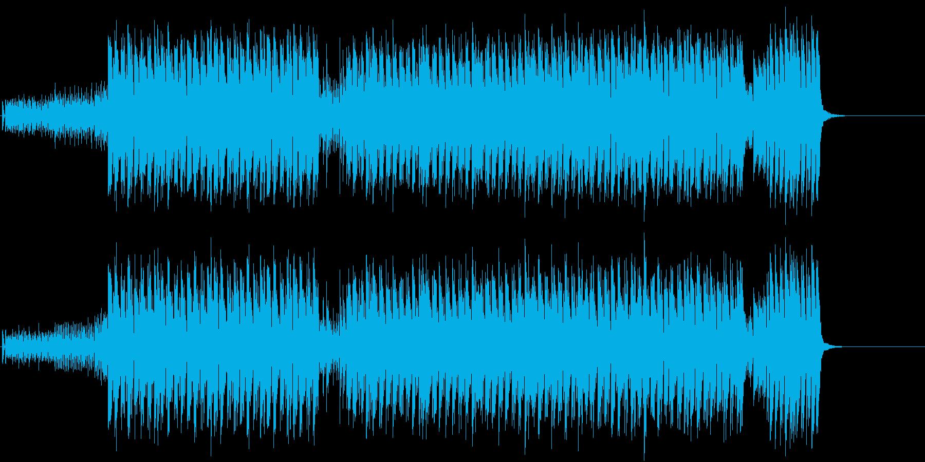 洒落たクラブ風マイナー・ダンス/テクノの再生済みの波形